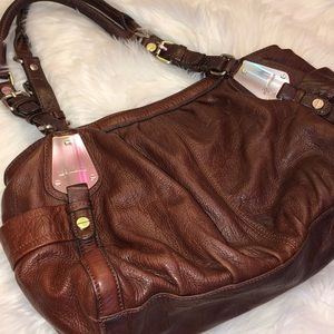 B Majowsky Leather Shoulder Bag Good Condition